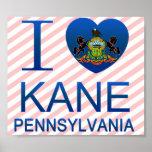 Amo a Kane, PA Poster