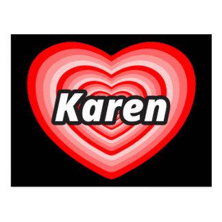 Amo a Karen Postal