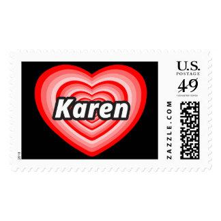 Amo a Karen Sellos