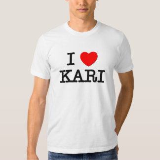 Amo a Kari Playeras