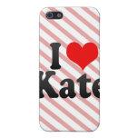 Amo a Kate iPhone 5 Cobertura