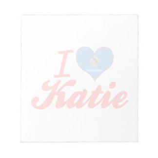 Amo a Katie Oklahoma Bloc De Notas