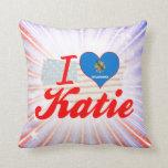 Amo a Katie, Oklahoma Cojines