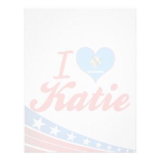 Amo a Katie Oklahoma Plantillas De Membrete