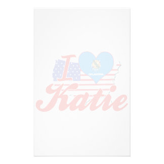 Amo a Katie Oklahoma Papeleria De Diseño