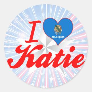 Amo a Katie Oklahoma Etiqueta