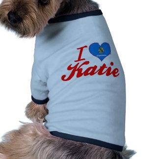 Amo a Katie Oklahoma Camisetas De Perro
