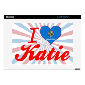 Amo a Katie Oklahoma Portátil Skin