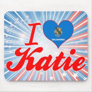 Amo a Katie Oklahoma Tapete De Ratón