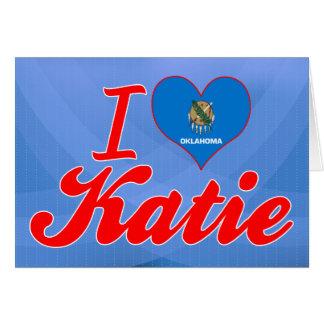 Amo a Katie Oklahoma Tarjetas