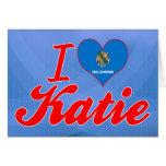 Amo a Katie, Oklahoma Tarjetas
