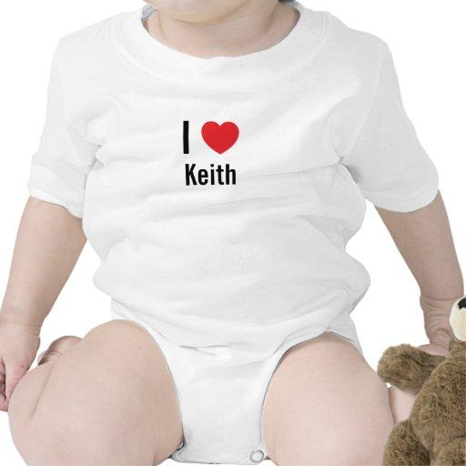 Amo a Keith Trajes De Bebé
