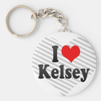 Amo a Kelsey Llaveros Personalizados