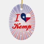 Amo a Kemp, Tejas Adorno De Navidad