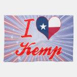 Amo a Kemp, Tejas Toalla De Cocina