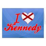 Amo a Kennedy, Alabama Felicitación