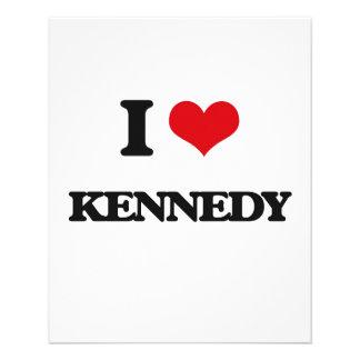 Amo a Kennedy Folleto 11,4 X 14,2 Cm