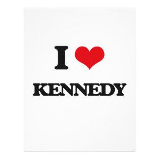 Amo a Kennedy Folleto 21,6 X 28 Cm