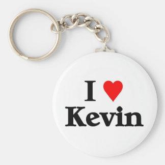 Amo a kevin llavero redondo tipo pin