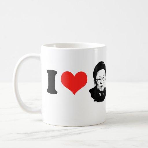 Amo a Kim Jong Il Taza