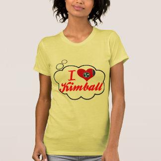 Amo a Kimball Tennessee Camisetas