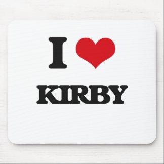 Amo a Kirby Alfombrilla De Ratón