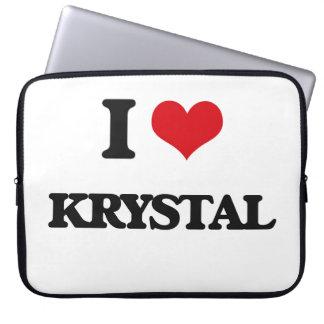 Amo a Krystal Funda Computadora