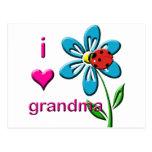 Amo a la abuela postal