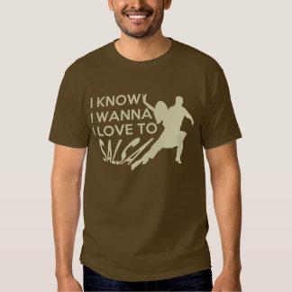 AMO a la camiseta de la SALSA Playeras