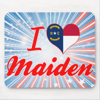 Amo a la doncella, Carolina del Norte Tapete De Raton