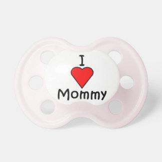 Amo a la mamá chupetes