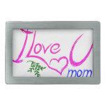 Amo a la mamá de U Hebilla De Cinturon