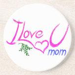 Amo a la mamá de U Posavasos Personalizados