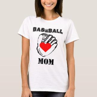 Amo a la mamá del béisbol playera