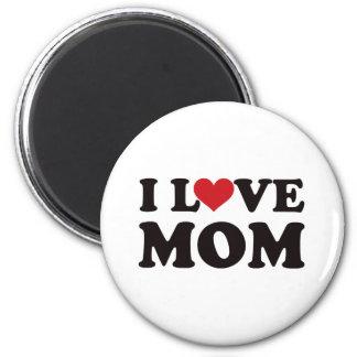 Amo a la mamá imán redondo 5 cm