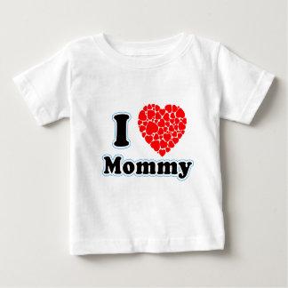 Amo a la mamá playera de bebé