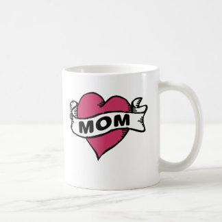 Amo a la mamá taza clásica