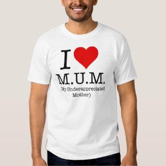 Amo a la momia (mi madre infravalorada) playeras