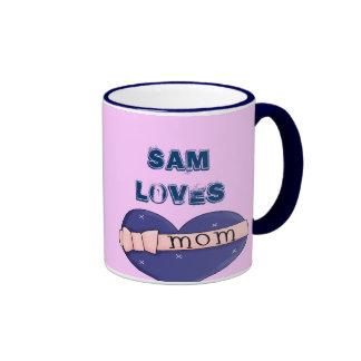 Amo a la momia taza
