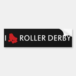 Amo a la pegatina para el parachoques de Derby del Pegatina Para Auto
