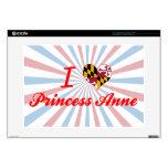 Amo a la princesa+Anne, Maryland Portátil Skin