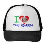 Amo a la reina - reina Elizabeth II Gorros