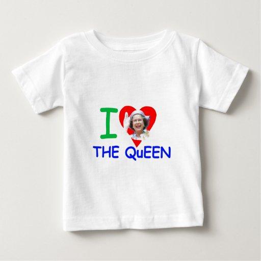 Amo a la reina - reina Elizabeth II Tshirt
