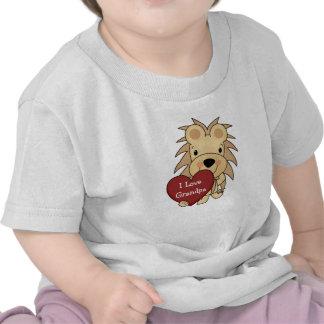 Amo a la tarjeta del día de San Valentín caprichos Camisetas