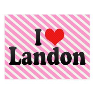 Amo a Landon Postal