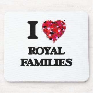 Amo a las familias reales mouse pad