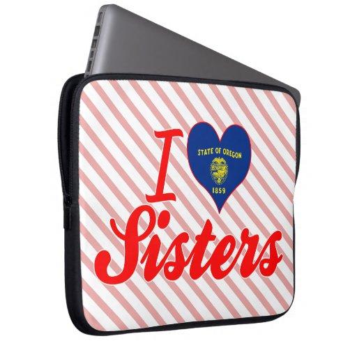 Amo a las hermanas, Oregon Fundas Ordendadores