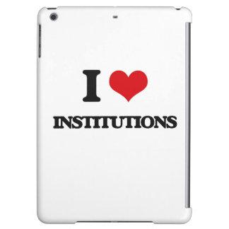 Amo a las instituciones