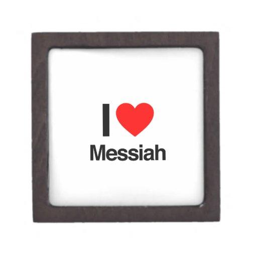 amo a las Mesías Cajas De Recuerdo De Calidad
