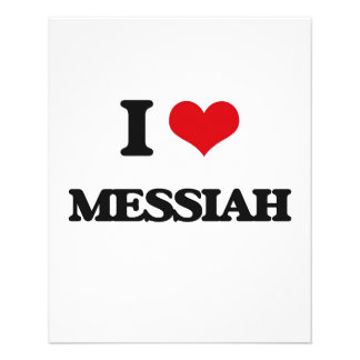 Amo a las Mesías Folleto 11,4 X 14,2 Cm